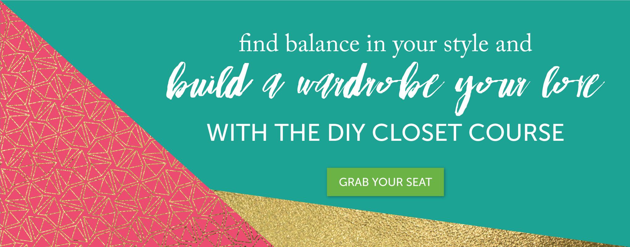 Take the DIY Closet Course