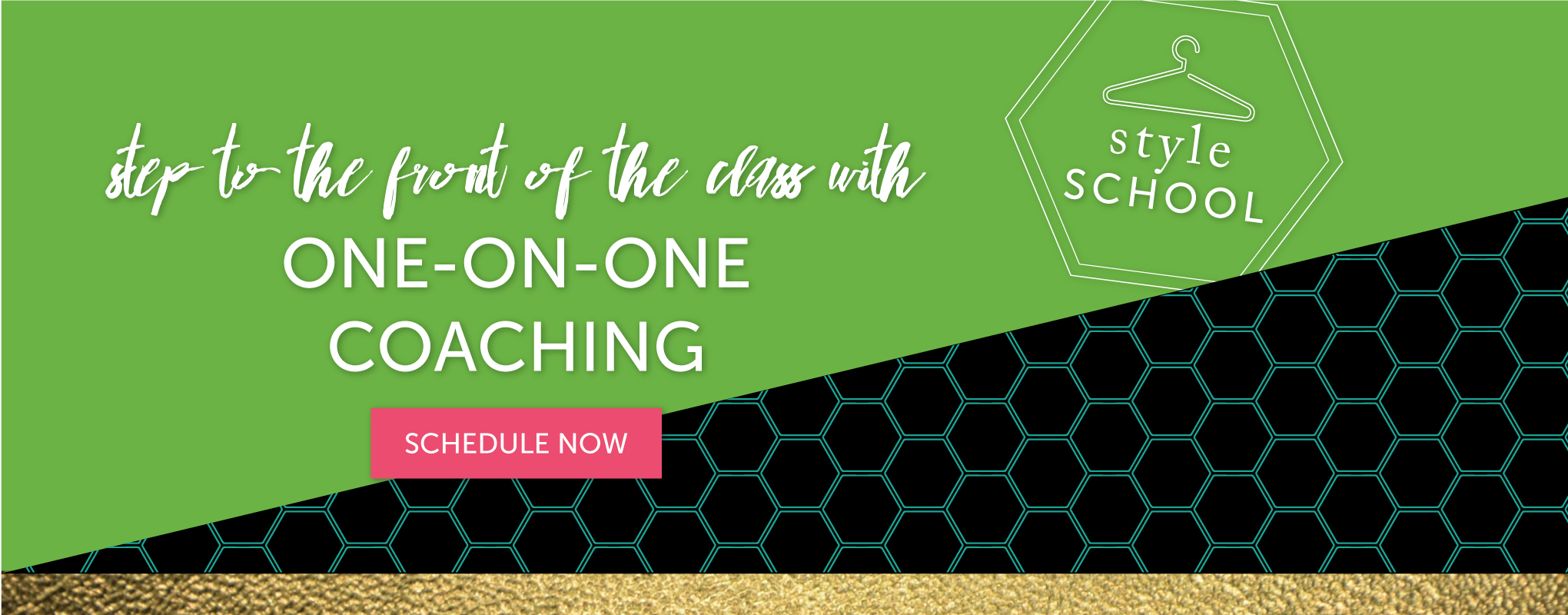 Schedule One-on-One Coaching