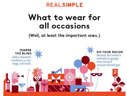 real simple what to wear for all occasions